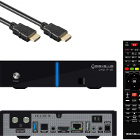 GigaBlue UHD IP 4K + Single DVB-S2x Tuner v2